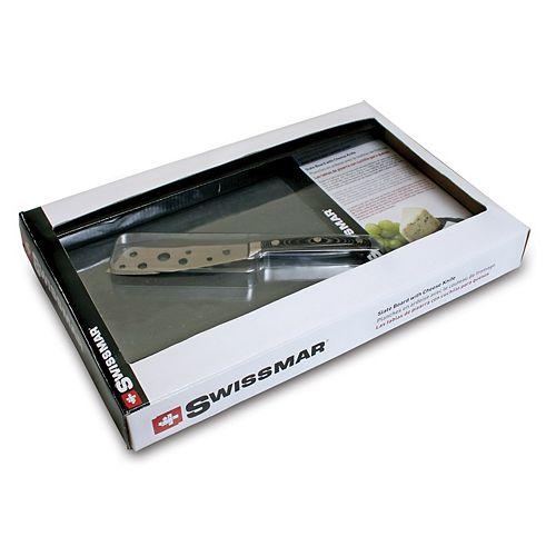 Slate Board and Cheese Knife Set
