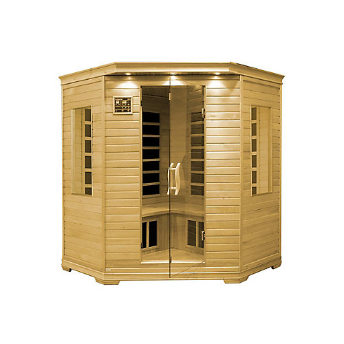 Infrared Carbon Heated Sauna - Three Person