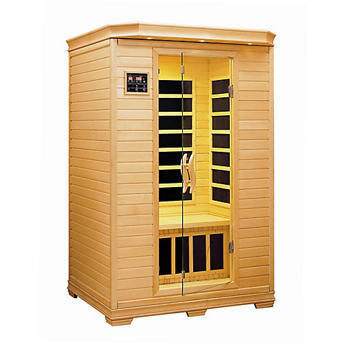 Infrared Carbon Heated Sauna - Two Person