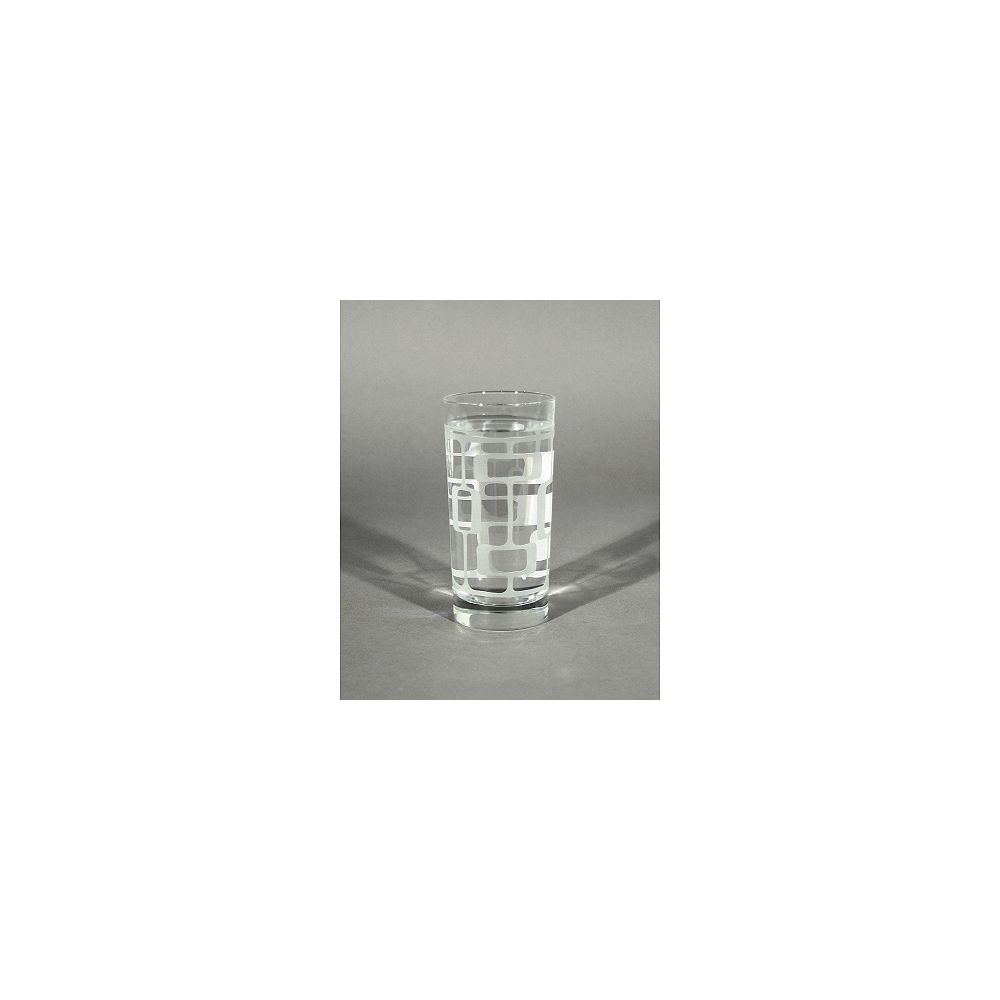 Angela Adams Tumblers Glass Manfred-Frosted (Set of 4)
