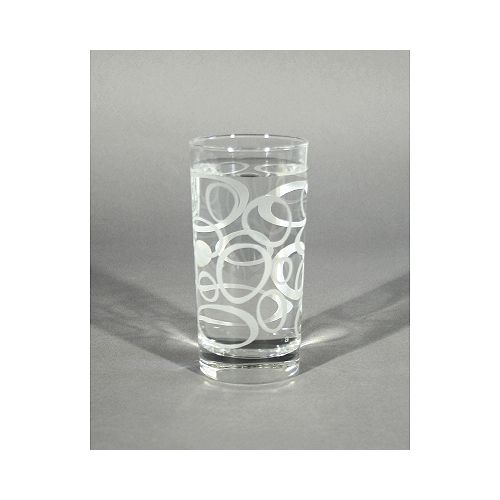 Tumblers Glass Lulu-Frosted (Set of 4)