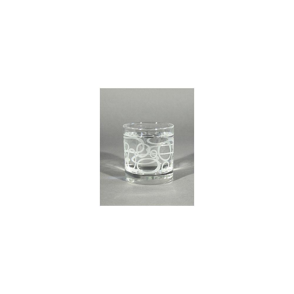 Angela Adams Rocks Glass Lulu-Frosted (Set of 4)
