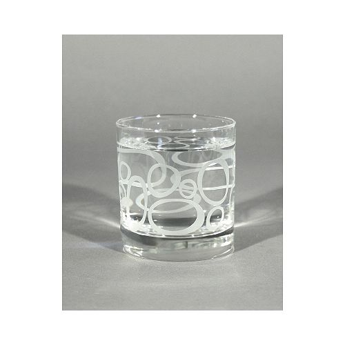 Rocks Glass Lulu-Frosted (Set of 4)