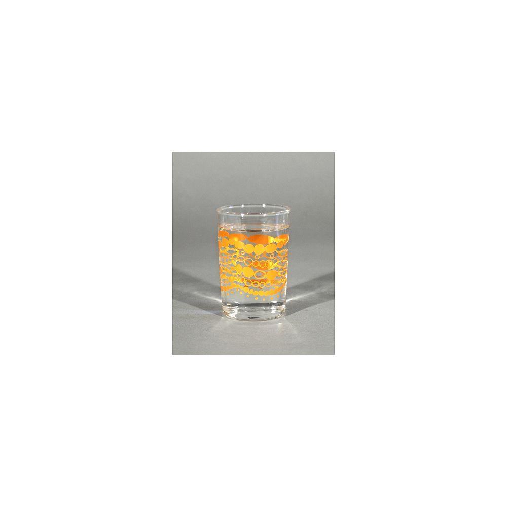 Angela Adams Juice Glass Chellie-Tangerine (Set of 4)