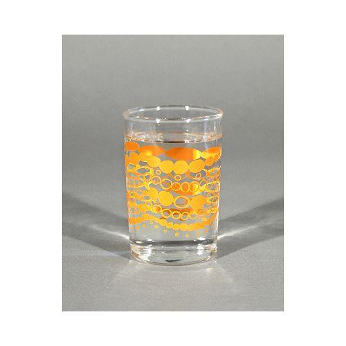 Verres à jus/Chellie/tangerine/ensemble de 4
