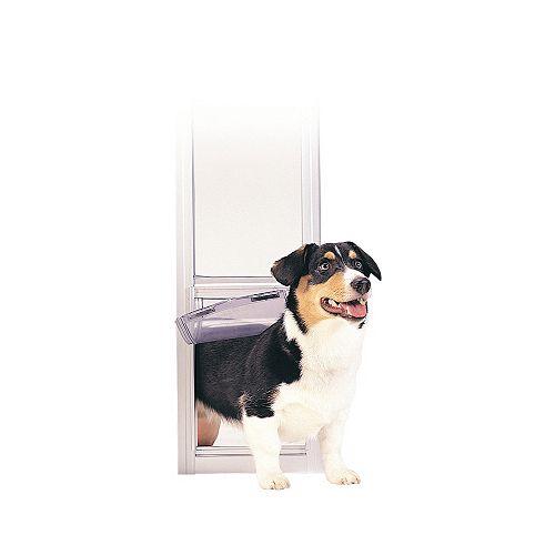 Panneau de luxe pour animal - Blanc - Moyen