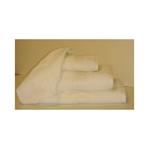 Chromatic Hand Towel - White