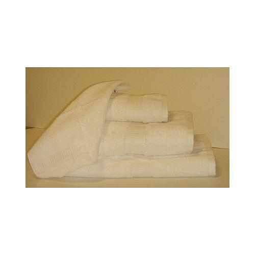 Serviette de toilette chromatique - Blanc