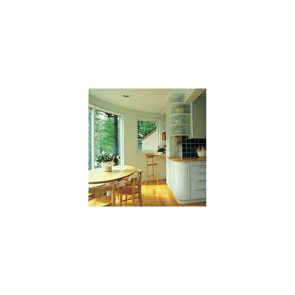 Gila Pellicule de contrôle de la chaleur pour fenêtre - Pâle 3 pi x 6,5 pi