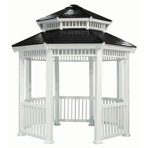 10 ft. x 10 ft. Gazebo in White