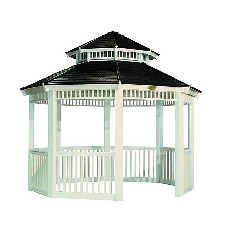 12 ft. x 12 ft. Gazebo in White