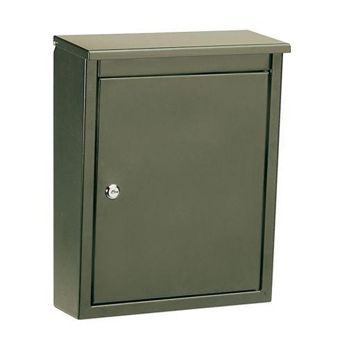 Architectural Mailboxes Soho Locking Wall Mount Mailbox Bronze
