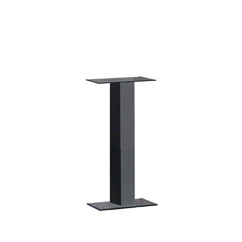 Poteau Standard à montage de type socle, noir