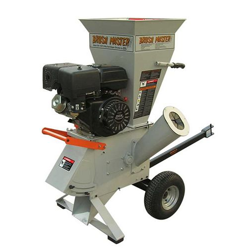 3-inch 11 HP Gas Powered Commercial-Duty Chipper Shredder