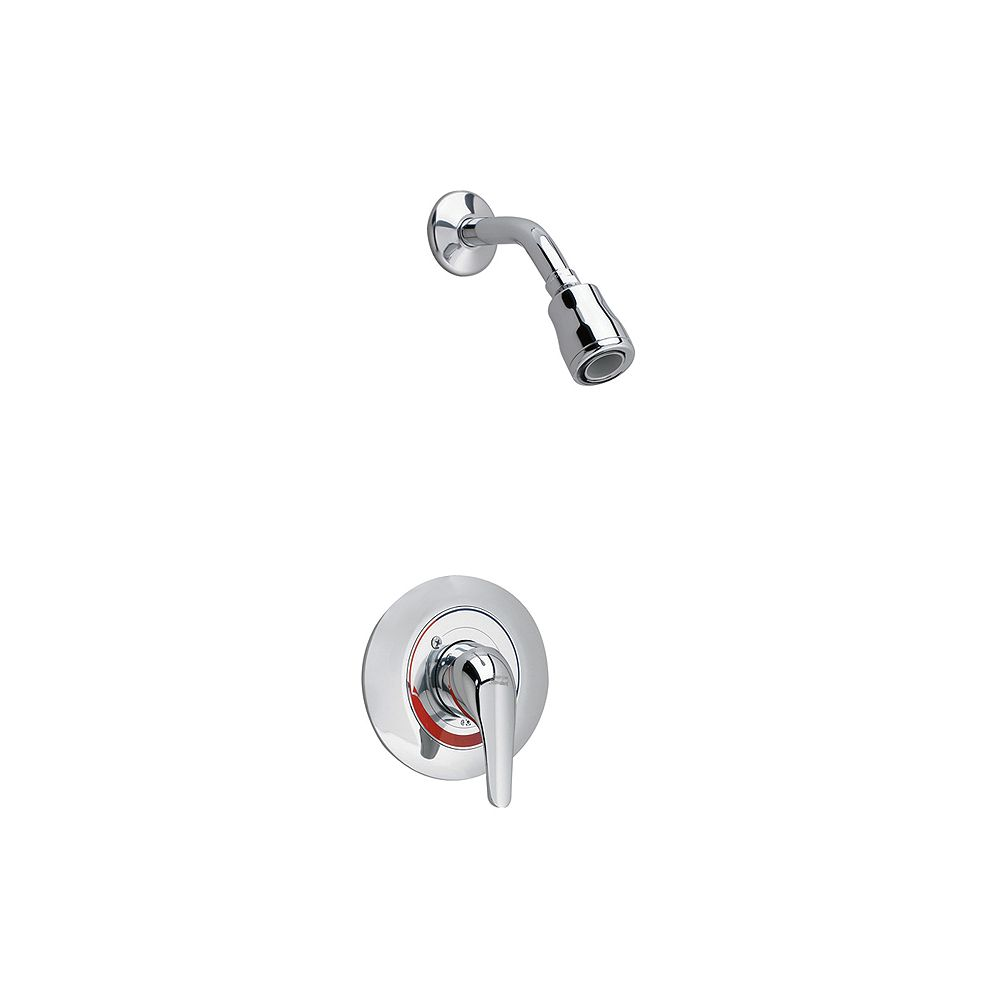 American Standard Colony Soft Shower Faucet with Flo-Wise Water-Saving Showerhead in Polished Chrome