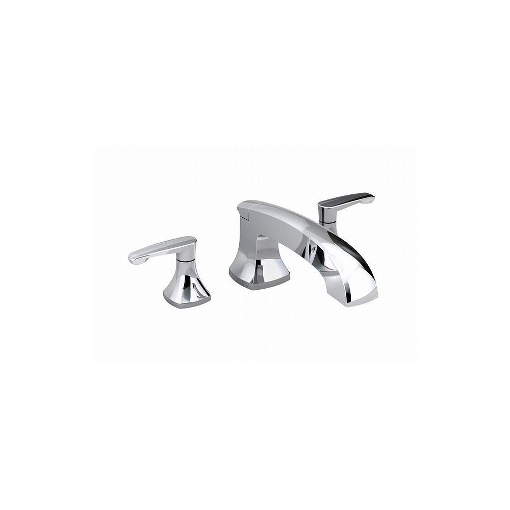 American Standard Copeland Deck-Mount Bath Faucet with Integral Diverter in Polished Chrome