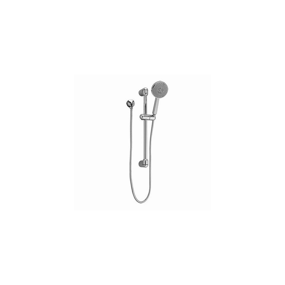 American Standard Rain Shower Round 3-Function Wall Bar Shower Kit in Polished Chrome