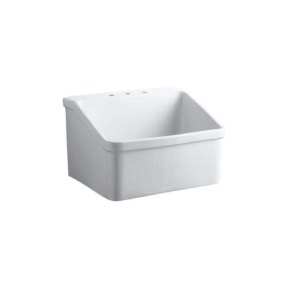 KOHLER Hollister Utility Sink in White