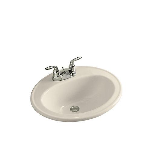 Pennington(R) drop-in bathroom sink with centerset faucet holes