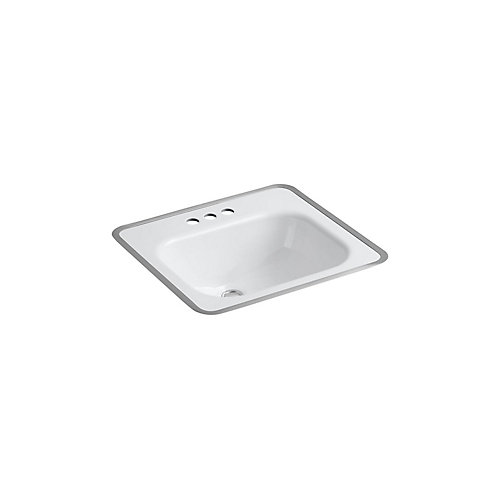 Tahoe(R) drop-in bathroom sink for use with metal frame