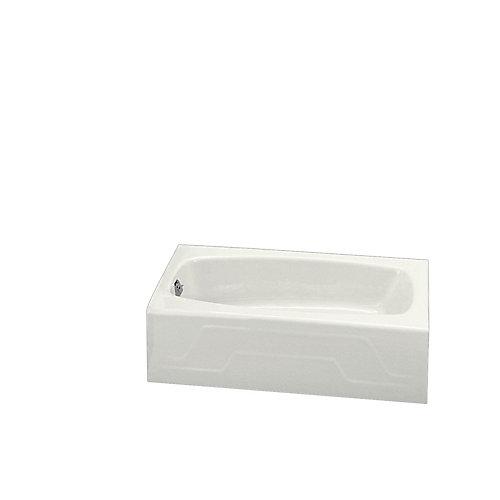 Baignoire en alcove Dynametric®, 60 x 32 po, avec drain a gauche