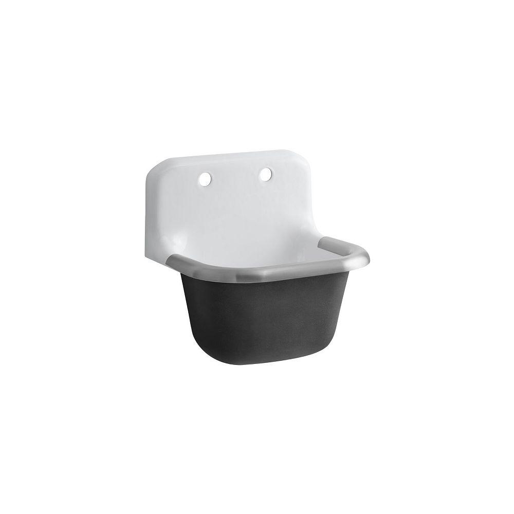 KOHLER Bannon Service Sink in White