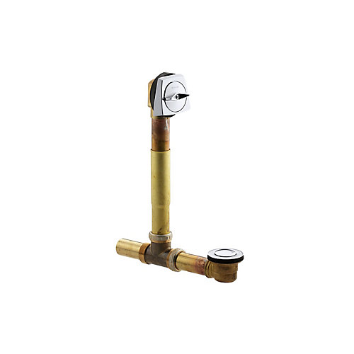 Clearflo 1-1/2 Inch Adjustable Pop-Up Drain in Polished Chrome