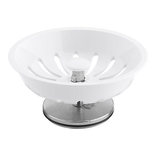 Duostrainer Basket Strainer in White