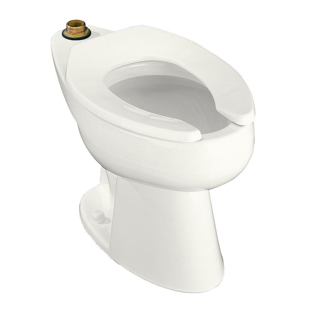 KOHLER Highcliff Elongated Bowl Toilet Bowl Only in White
