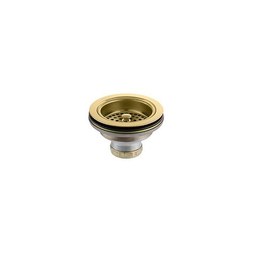 Duostrainer Sink Strainer in Vibrant Polished Brass