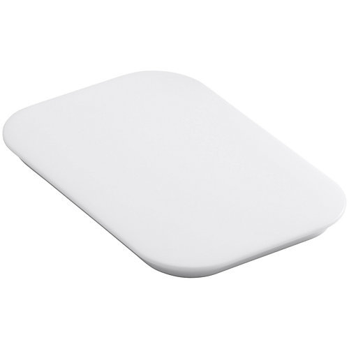 Bakersfield(Tm) Polyethylene Cutting Board in White