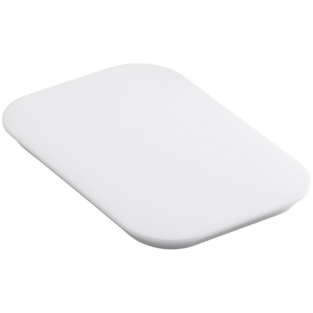 KOHLER Bakersfield(Tm) Polyethylene Cutting Board in White