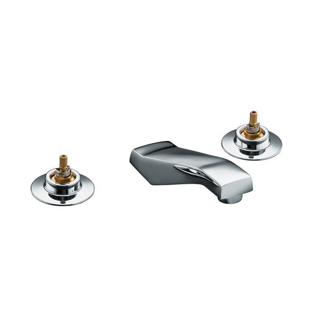 KOHLER Triton Widespread Bathroom Faucet in Polished Chrome Finish