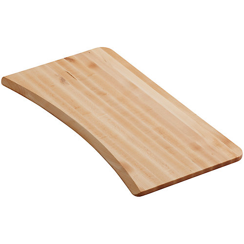 Planche a decouper en bois franc pour eviers de cuisine Brookfield et Lakefield