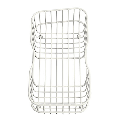 Lakefield(Tm) Wire Rinse Basket in White