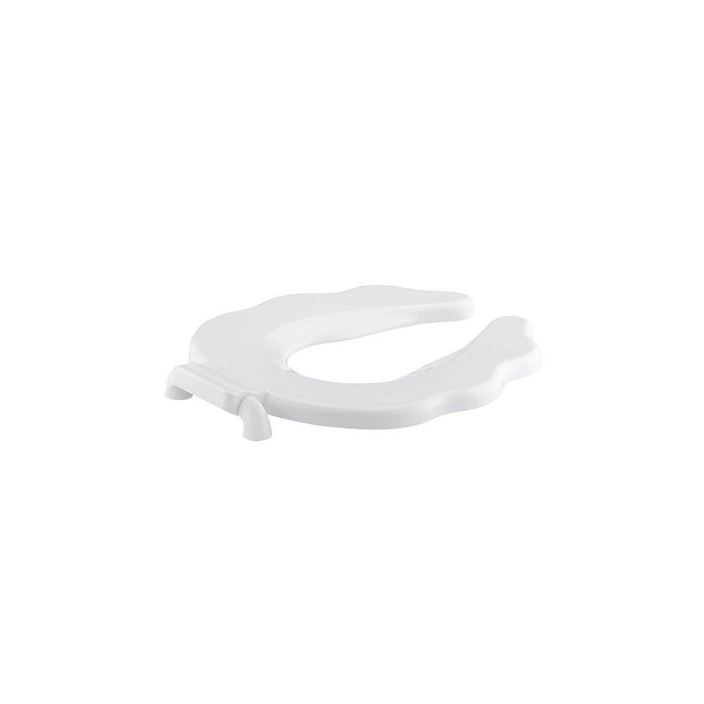 KOHLER Primary Open Front Toilet Seat in White