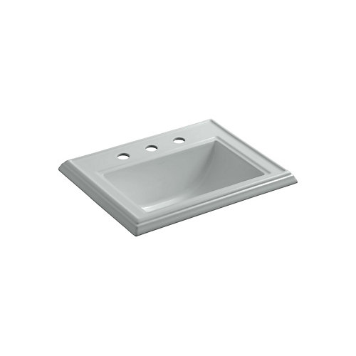 Memoirs(R) Classic drop-in bathroom sink with 8 inch widespread faucet holes