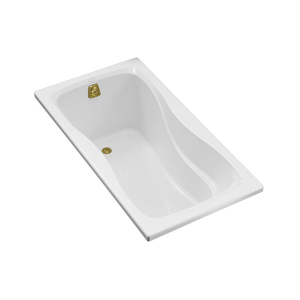 KOHLER Baignoire encastree Hourglass®, 60 x 32 po, avec drain reversible