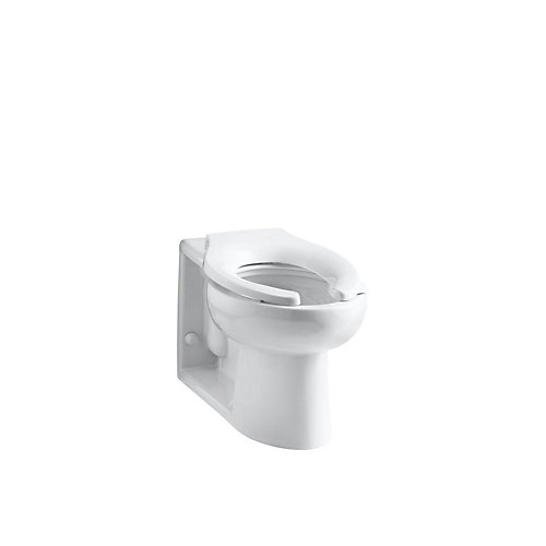Anglesey Elongated Bowl Toilet Bowl Only in White