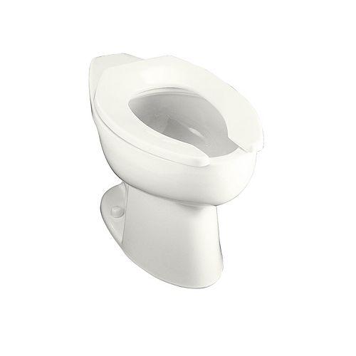 KOHLER Highcrest Elongated Bowl Toilet Bowl Only in White