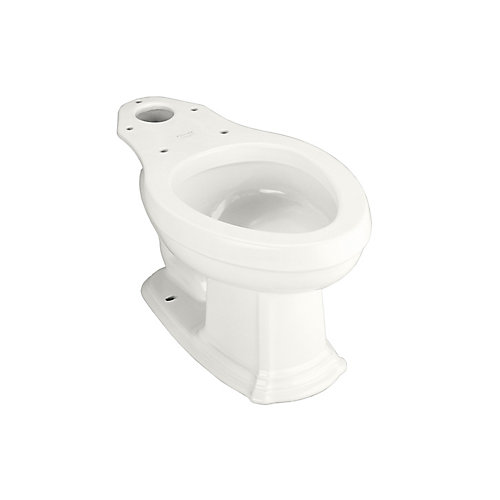 Portrait Elongated Bowl Toilet Bowl Only in White