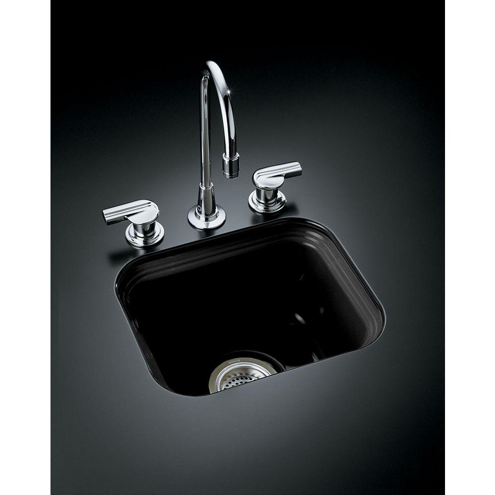 """KOHLER Northland(TM) 15"""" x 12-3/8"""" x 7-5/8"""" under-mount bar sink"""