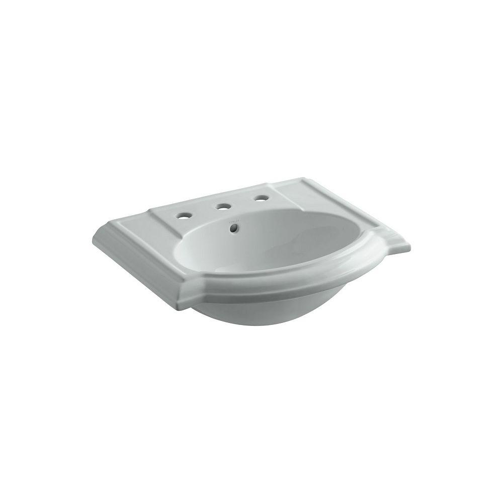 KOHLER Devonshire(R) bathroom sink with 8 inch widespread faucet holes