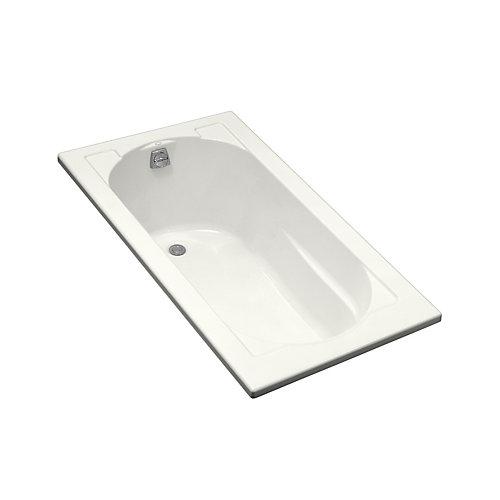 Baignoire encastree Devonshire®, 60 x 32 po, avec drain reversible