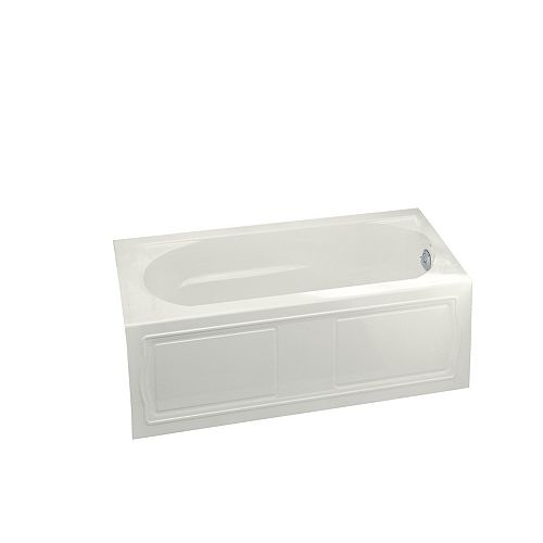 Devonshire 60-inch x 32-inch Acrylic Alcove Bathtub with Right-Hand Drain in White