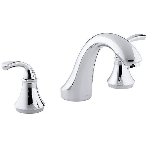 Forté Deck-Mount Bath Faucet in Polished Chrome