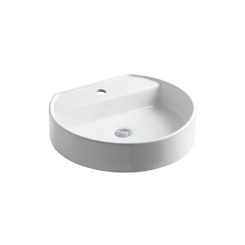 Chord(R) Wading Pool(R) bathroom sink with single faucet hole