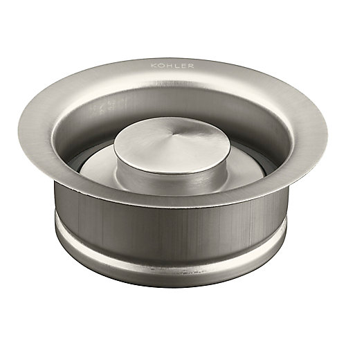 Disposal Flange With Stopper in Vibrant Brushed Nickel
