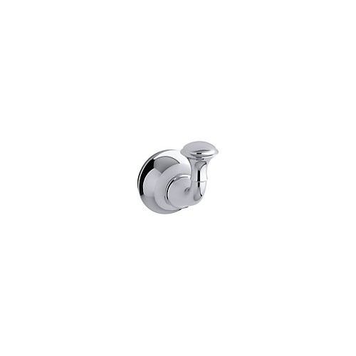 Forté Traditional Robe Hook in Polished Chrome