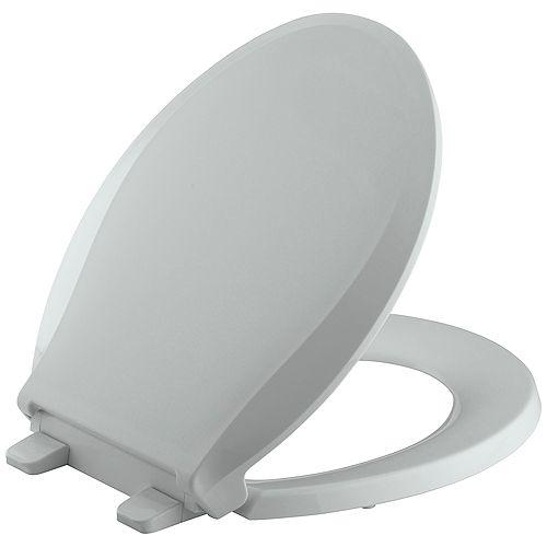 Siege de toilette arrondi Cachet Quiet-Close avec Grip-Tight